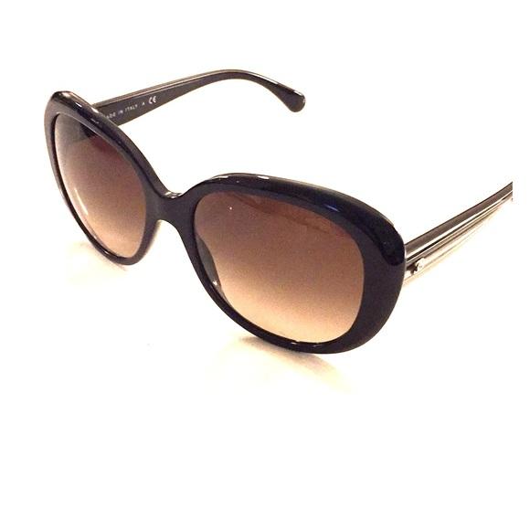6cd486e8e8cf CHANEL Oval Signature Sunglasses Spring 2018